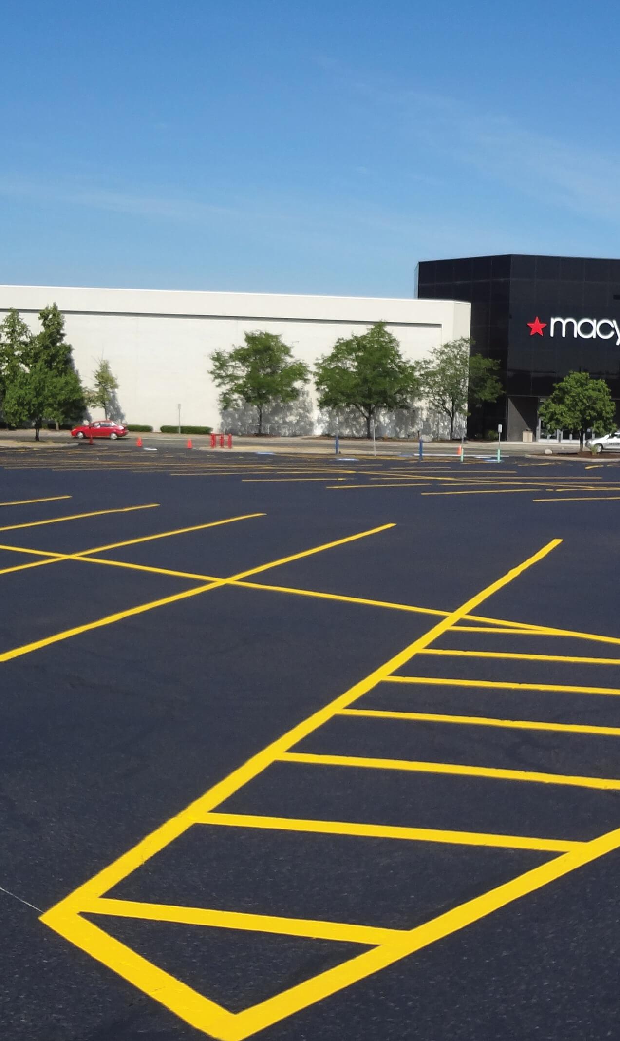 Destiny Mall Parking Lot in Syracuse NY